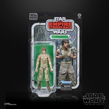 "Star Wars The Black Series Empire Strikes Back Luke Skywalker Dagobah 6"" Figure"